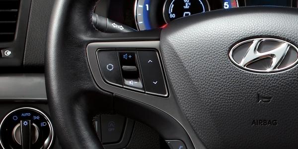 Control remoto integrado en el volante